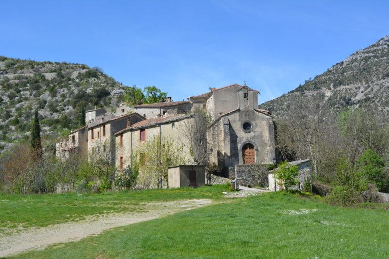 Vue du village de Saint-Maurice de Navacelles 2