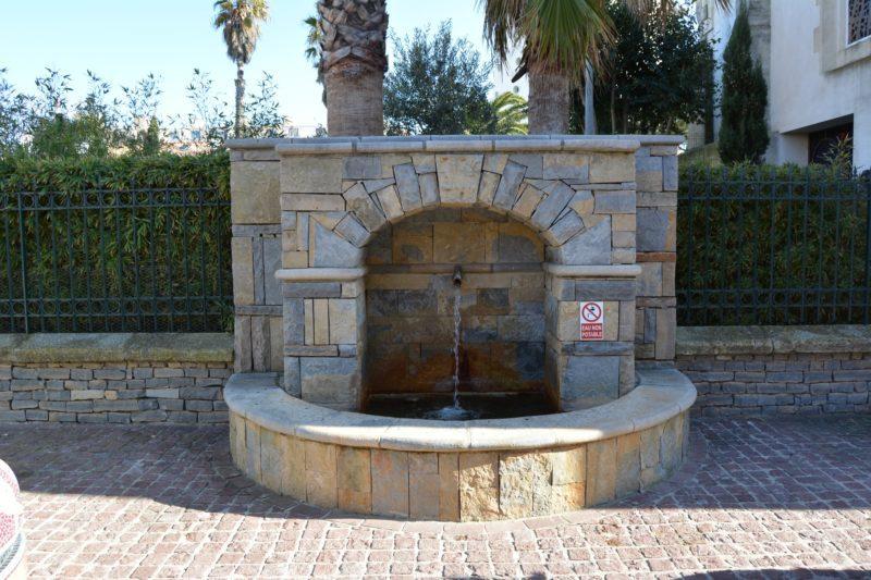 Une Fontaine à Palavas