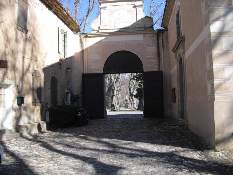 Porte d'entrée de la Manufacture Royale 3